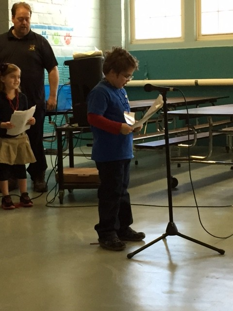 Zachary gives the audience a preview.